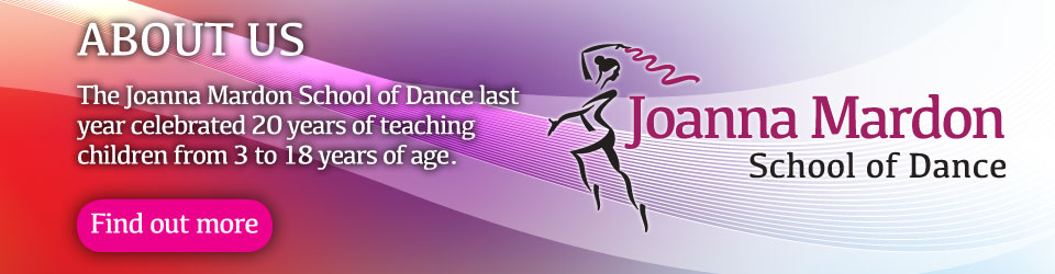 About Joanna Mardon School of Dance, Exeter, Devon