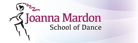Exeter Ballet School Joanna School of Dance Devon website header