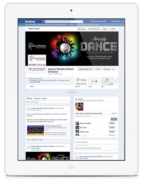 Joanna Mardon School of Dance on Facebook