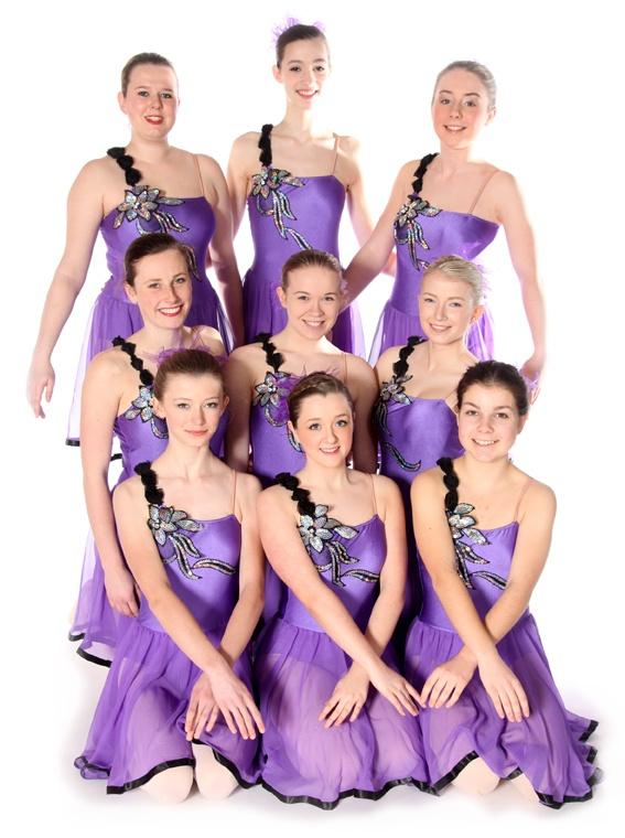 Exeter Ballet Grade 8 Pupils from Joanna Mardon School of Dance
