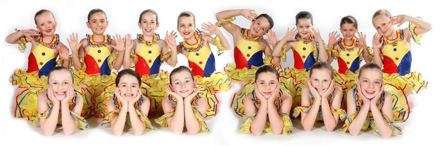 Exeter Ballet Lessons Grade 2 Pupils from Joanna Mardon School of Dance