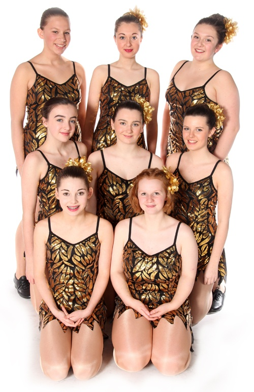 Exeter Tap Lessons Grade 5 intermediate students from Joanna Mardon School of Dance