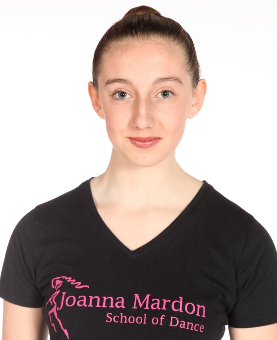 Jessica Yates - Junior Ballet Assistant at Joanna Mardon School of Dance, Exeter, Devon