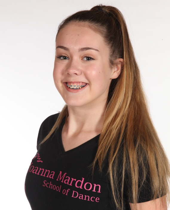Leah Brice - Junior Ballet Assistant Exeter Joanna Mardon School of Dance